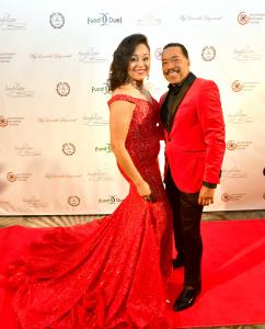 MIMPA President Gail Gibson with Obba Babatunde