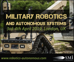 SMi's Military Robotics and Autonomous Systems conference 2019