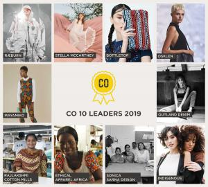 CO10 Sustainable Fashion Industry Award Winners