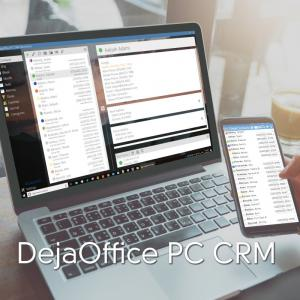 DejaOffice CRM for PC and Mobile