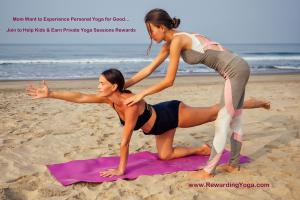 Moms Enjoy Rewarding Yoga