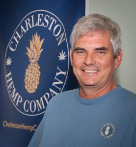 David Bulick, farmpreneuer and owner of Charleston Hemp Company