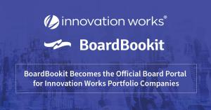 BoardBookit Becomes the Official Board Portal for Innovation Works Portfolio Companies