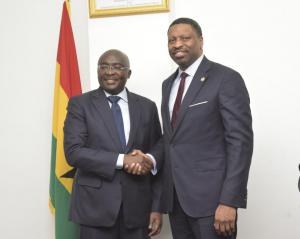 NAACP President and Vice President of Ghana Mahamudu Bawumia