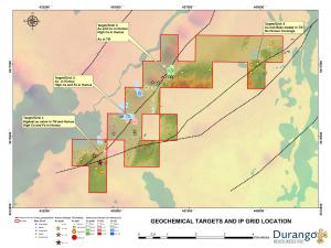 Trove Geochemical Targets