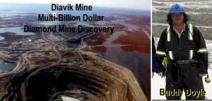 Arctic Star's Lead Geologist also Discovered the Diavik Mine