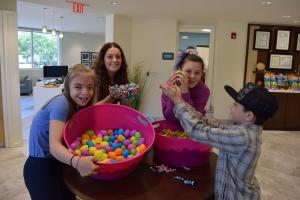 CCV Easter Egg Hunt Preparations