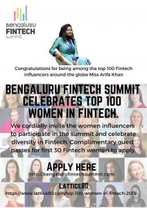 Bengaluru Fintech Summit welcomes female fintech thought leaders