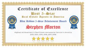 Stephen Morton Certificate of Excellence Canton TX
