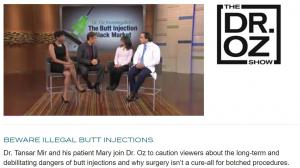 Dr Tansar N Mir, New York, on Dr Oz Show