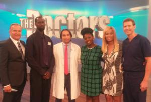 Dr Tansar Mir, New York, on television show The Doctors