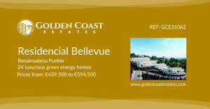Residencial Bellevue - New Build Green Energy Homes from €439,500 to €594,500