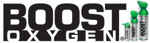 Boost Oxygen logo with three (3) sizes