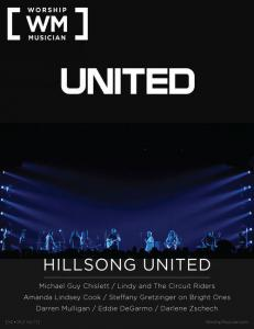 Worship Musician cover featuring Hillsong United