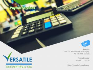 Versatile Accounting staffs are certified financial accountants and bookkeeping service professionals.