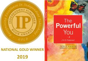 The Powerful You! is Patrick Atkinson's 2019 national award winning book which empowers children and teens to take responsibility for their actions, and credit for their successes.