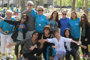 LE&RN Massachusetts Chapter Members participate in NY LymphWalk