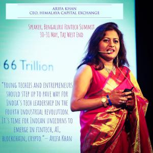 Arifa Khan, Founder of Fintech Storm