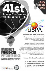 Chicago Science Radionics & Psychotronics Conference USPA