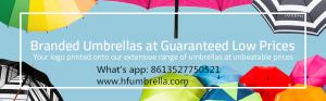 custom umbrellas China