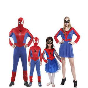 Spiderman costume family for group