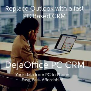 DejaOffice Personal CRM Outlook Alternative
