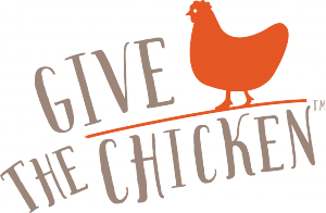 Give The Chicken Logo