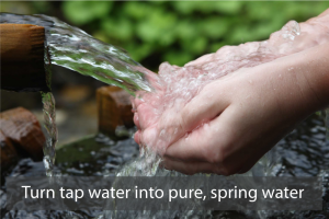 Turn Tap Water Into Pure, Spring Water