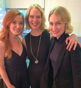 Sierra Boggess (left), Rebecca Luker (center), and Heather Botts Headlined the Montclair PRSSA 7th Benefit for Autism NJ