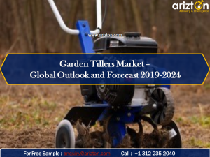 Garden tillers market analysis report 2024