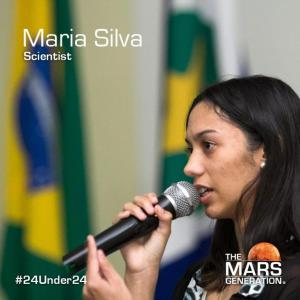 Maria Silva_24 Under 24 Winner_2019_The Mars Generation
