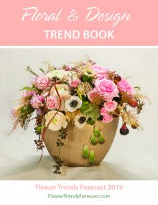 Cover for the Floral & Design Trend Book 2019