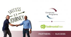 Continuity Programs Announces Integration with Testimonial Tree