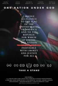 Key poster art for ONE NATION UNDER GOD