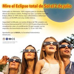 2 de julio, 2019 Eclipse solar total Argentina