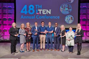 5th Annual LTEN Excellence Awards Winners take stage at the LTEN Annual Conference.