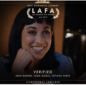 Verified - Winner of Best Romantic Comedy at Los Angeles Film Awards