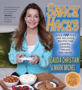 cookbook, science fiction, Disney, recipes, snack hacks, Claudia christian, geeks, pop culture