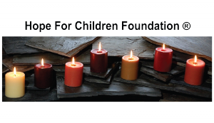 seven candles name Hope for Children Foundation