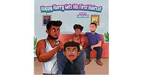 Happy Harry Gets His First Haircut by Fallon Ward
