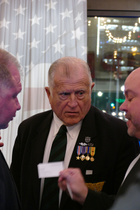 This is an image from the Heroes Advancement Programs May 10, 2019 Charity Event held at Hotle Zaza in Dallas, TX with Dennis McLaughlin, Hon. Allen Clark, Alex Muse in the image.