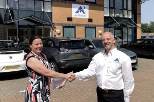 Felicity Sharp, Head of ECOTECH Europe & Jim Mills, Founder of Air Monitors Ltd