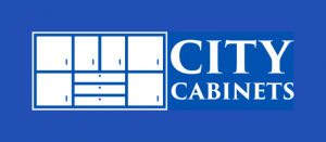 City-Cabinets logo, cabinets, woodwork