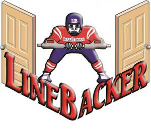 The LineBacker Door Restraint protects against unwanted entry