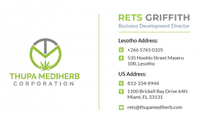 Rets Griffith, Business Development Director