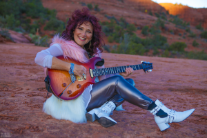 Valerie Romanoff creates music of many kinds: new age, jazz, rock, blues and her favorite: funky world groove.