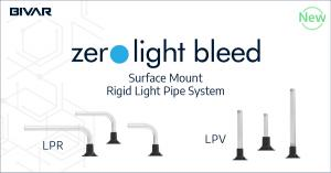 Zero Light Bleed Surface Mount Rigid Light Pipe System NPI