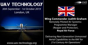 Wing Commander Judith Graham, , RAF Programme Manager: Reaper and Protector