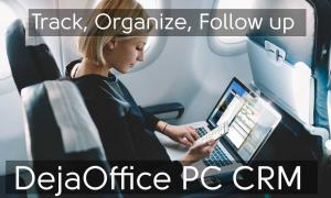 A Smart Business Person uses DejaOffice PC CRM