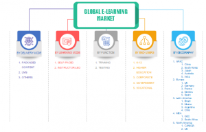 E-learning Market Segments 2024